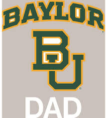Amazon Com Stockdale Baylor Bears Transfer Decal Dad Sports Outdoors