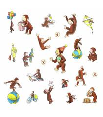 York Wallcoverings Wall Decals Curious George Storybook Joann