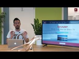 mirror your mac screen to a sharp tv