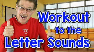 workout to the letter sounds version