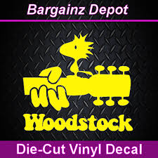Car Laptop Sticker Woodstock Festival Peace Dove 60 S Woodstock Vinyl Decal
