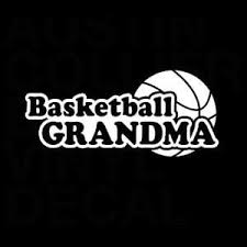 Basketball Grandma Window Decal Sticker Custom Sticker Shop