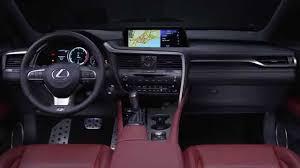 2016 lexus rx 350 f sport interior