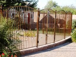 Queen Creek Fence Queen Creek Wrought Iron Fencing Iron Fence Metal Fence Yard Fencing
