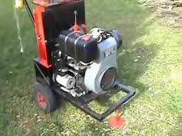 home made wood chipper you