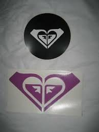 Roxy Surf Die Cut Car Stickers Decals Surfing Rika Heart Logo Snowboard Quik Ebay