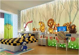 Custom 3d Photo Mural Wall Stickers Forest Cartoon Train Animal Childrens Room Background Wall Art Pictures Wall Paper For Kids Room Pc Wallpapers Pc Wallpapers For Free From Wdbh 13 21 Dhgate Com
