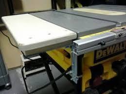 Dw745 Left Side Extension Table Table Saw Extension Table Extension Dewalt