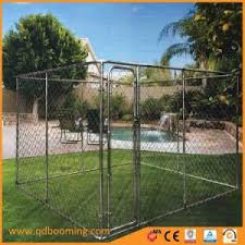China Easy Installation Galvanized Chain Link Dog Kennel China Pet Kennel And Dog Cage Price