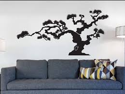 Beautiful Bonsai Stickers For Walls