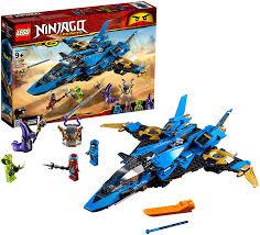 Amazon.com: LEGO NINJAGO Legacy Jay's Storm Fighter 70668 Building ...