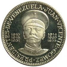 Medalla de los Presidentes Venezuela: Juan Vicente Gomez