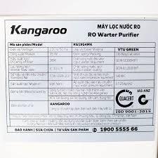 Máy Lọc Nước RO Kangaroo KG19G4MK vỏ VTU - dành cho nước phèn - KG19G4MK VTU