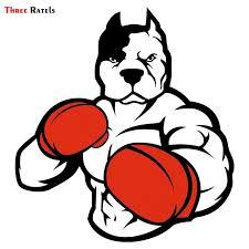 Pitbull Boxer Streetbadge