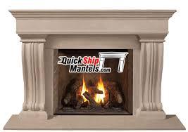 grandstock pre cast fireplace mantels