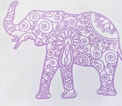 Intricate Mandala Elephant Vinyl Decal For Car Electronics Yeti Or H Ftw Custom Vinyl