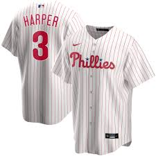 Bryce Harper Philadelphia Phillies Nike Youth Home 2020 Replica Player Jersey White