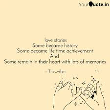 love stories Some became... | Quotes & Writings by Abhisek Nanda | YourQuote