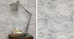 BLACK. WHITE. YELLOW.}: Seascape Wallpaper from Abigail Edwards