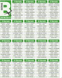 Calendario Calcio Serie A e B