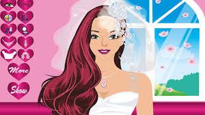 play free wedding makeup games