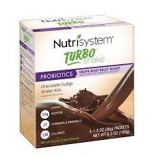nutrisystem turbo shake mix chocolate