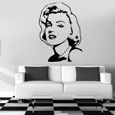 Marilyn Monroe Wall Decal Classic Vinyl Wall Sticker Waterproof Bedroom Girls Room Art Mural Adhesive Inspiring Home Decor Removable Wall Decals Nursery Removable Wall Decals Quotes From Onlinegame 11 58 Dhgate Com
