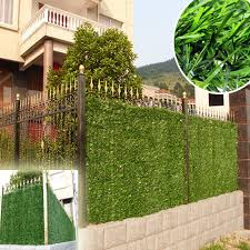 China Plastic Hedges Ivy Leaf Fence Boxwood Artificial Hedge China Hedge Artificial And Artificial Hedge Fence Price