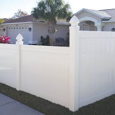 Hampton 6x6 Vinyl Privacy Fence Kit Vinyl Fence Freedom Outdoor Living For Lowes