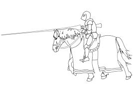 Kleurplaat Ridder Te Paard Gratis Kleurplaten Om Te Printen