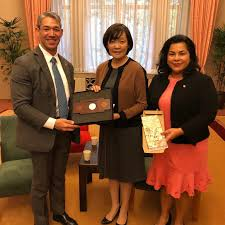SCI Chair Ron Nirenberg Meets with Mrs. Akie Abe of Japan - Sister Cities  International (SCI)