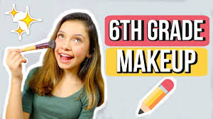 middle makeup 6th grade
