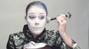 goth white makeup tutorial saubhaya