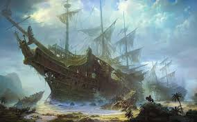 schooner ship sail ship beached abandon