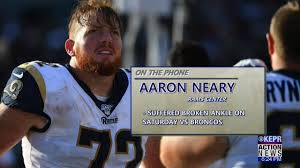 Alan Hoshida - Rams' Aaron Neary speaks about ankle injury | Facebook