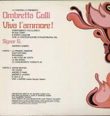 OMBRETTA COLLI - DISCOGRAFIA (Cover - Video - Testi)