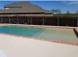 beach entry fiberglass pool in utah