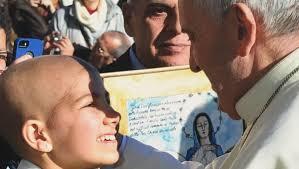 Meeting pope fulfills cancer-stricken girl's wish
