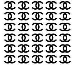 Chanel Stickers Designer Stickers Fashion Designer Stickers Designer Inspired Stickers Fashion Brand Chanel Stickers Logo Chanel Stickers Chanel Decor