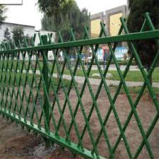 China 1 2m Antique Green Artificial Bamboo Garden Fence Design China Garden Fence Bamboo Fence