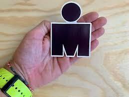 Ironman Red M Dot Triathlon Sticker 4 Swim Bike Run Tri Car Decal 140 6 70 3 4 50 Picclick