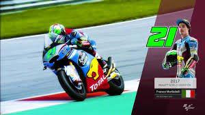 Franco Morbidelli crowned 2017 Moto2™ World Champion! - YouTube