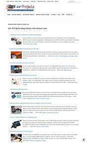 arduino 3000 projects list ebook