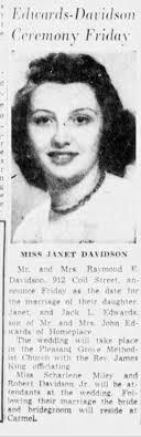 Janet Davidson Marriage - Newspapers.com