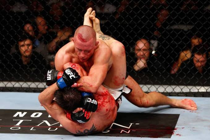 """Image result for Georges St. Pierre Says He's Not Quitting MMA To Wrestle In The Olympics"""""""