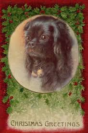 Pekingese Puppy Dog by Maude West Watson 1920's LARGE New Blank Note Cards  Pekingese Collectibles