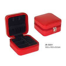 jewelry storage box leather jewelry box