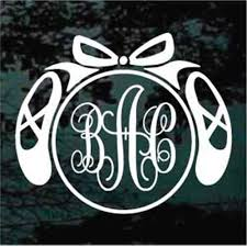 Monogram Car Decals Stickers Decal Junky