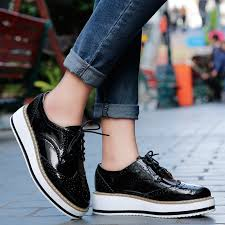 ginita patent leather women s platform