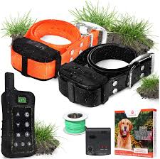Amazon Com Pet Control Hq Dog Containment System Wireless Perimeter W 1 Or 2 Shock Collar Kit Remote Electric Proximity Fence Above Ground No Digging Or Underground Wire Outdoor